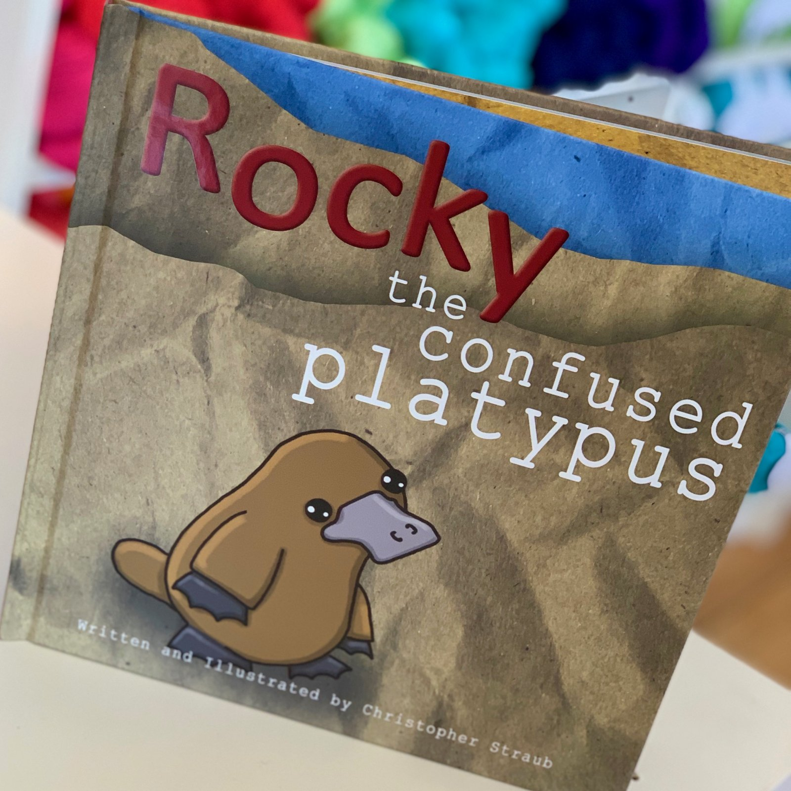 Rocky The Confused Platypus
