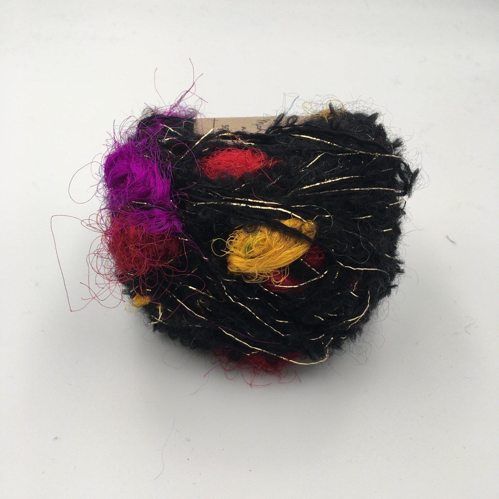 Adele's Mohair Sari Silk - Black