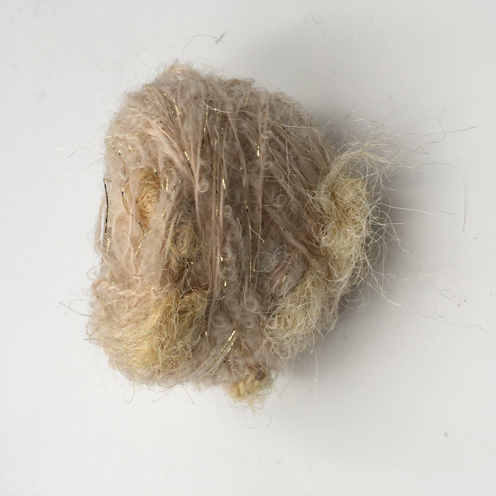 Adele's Mohair Sari Silk - Sand