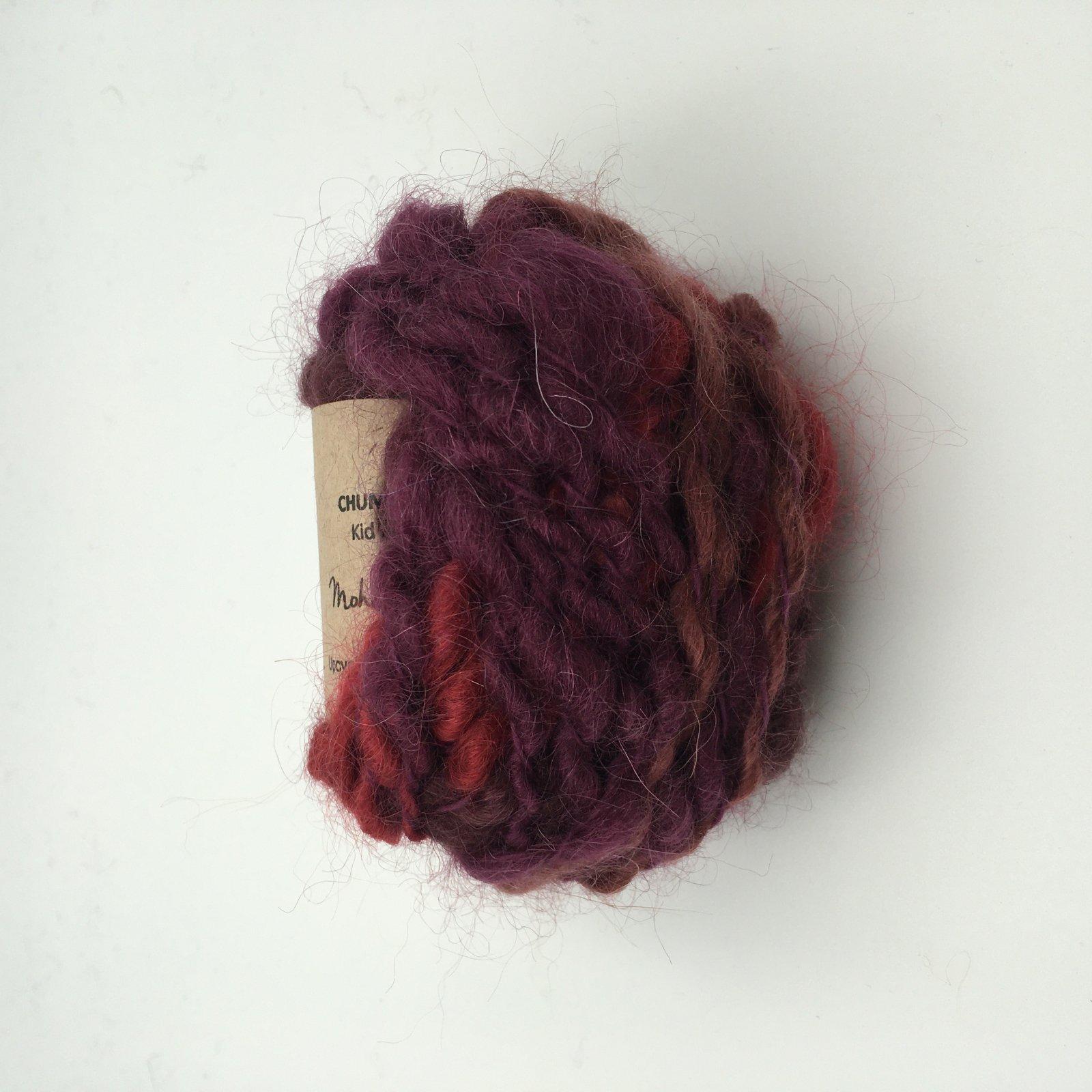 Adele's Mohair Chunky Spun - Rosewood