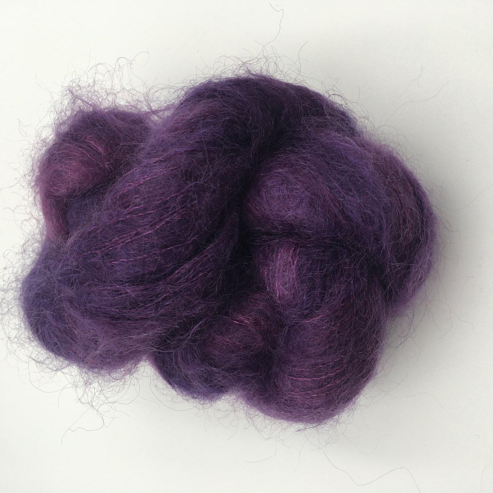 Three Irish Girls Binge Knit Mohair - Purple's Not Really My Color