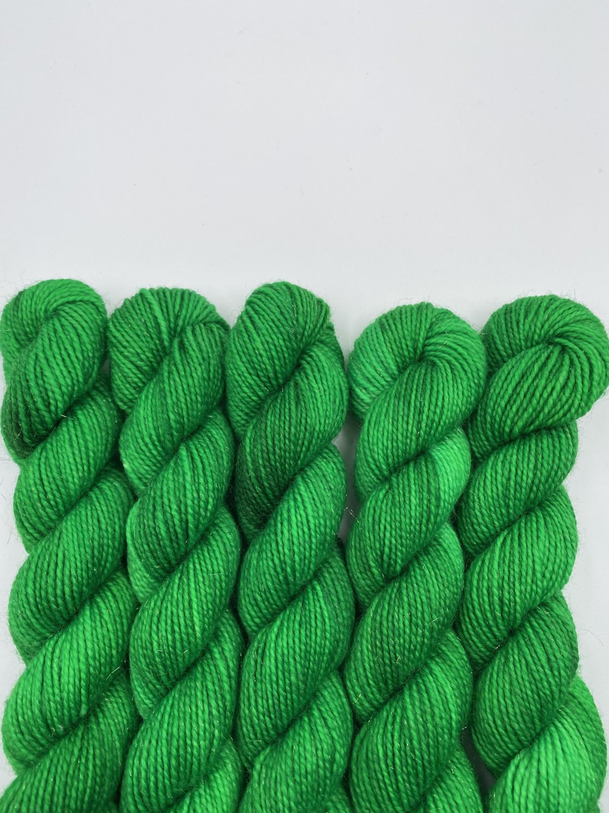 Asylum Fibers Stardust Sock MINI - Emerald City