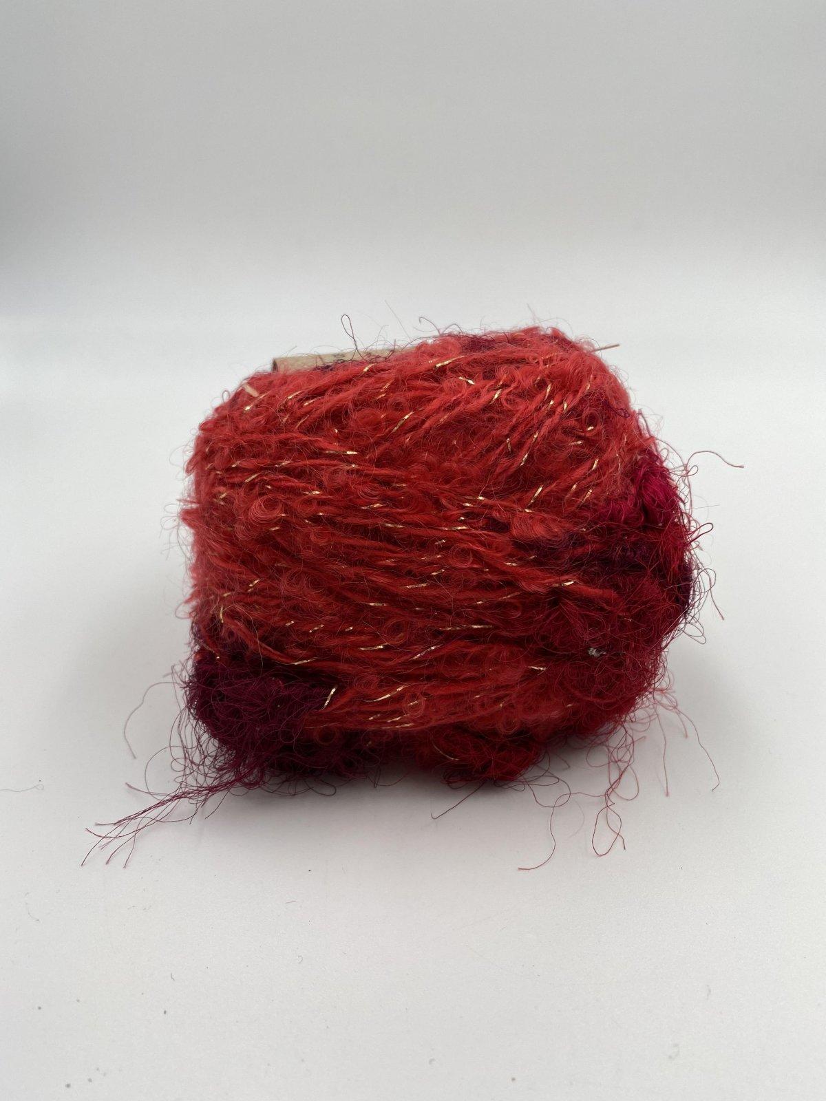 Adele's Mohair Sari Silk - Red