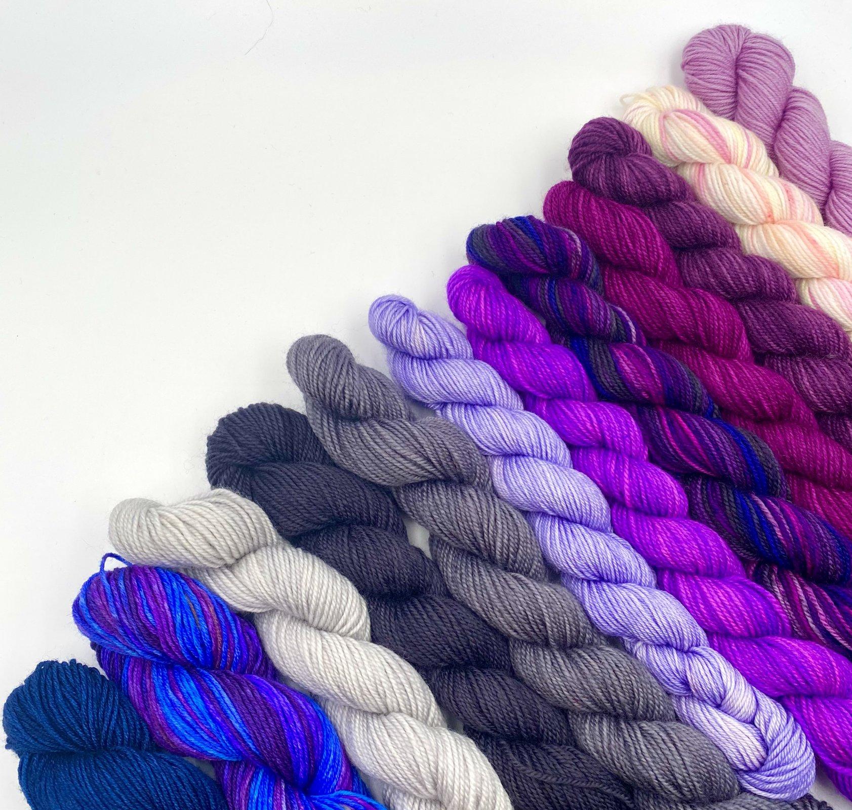 Perfect Blend Shawl Kit - Designer Casapinka