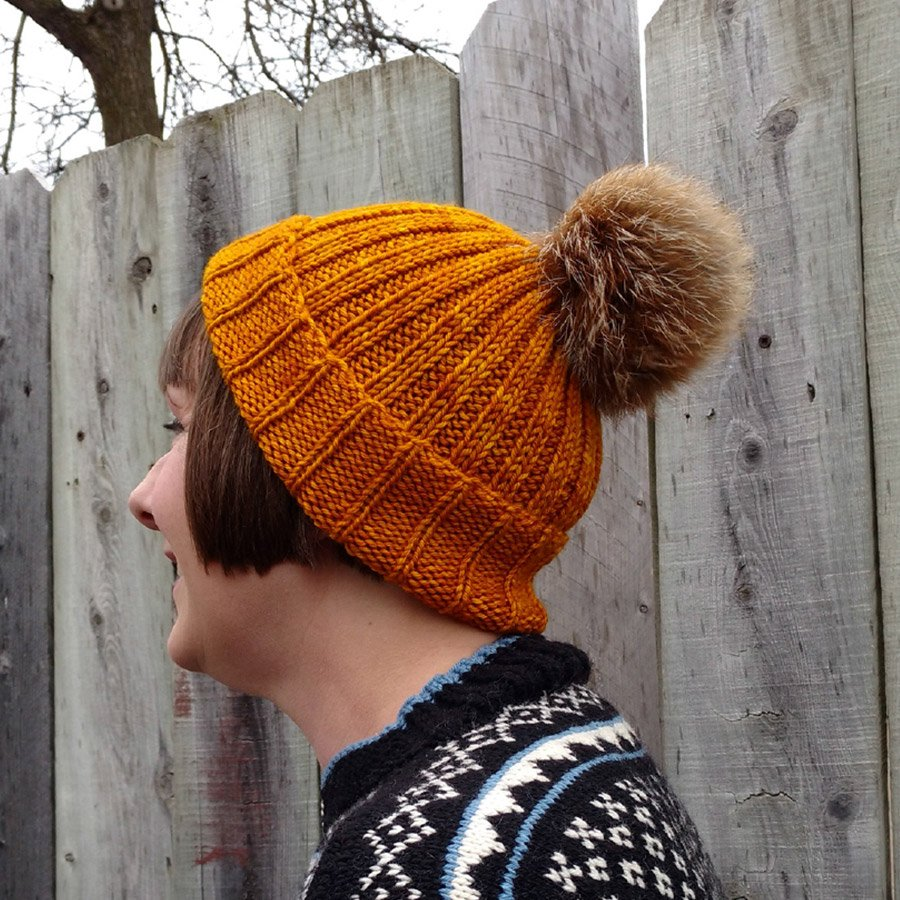 I Smell Snow Cap Pattern - PDF