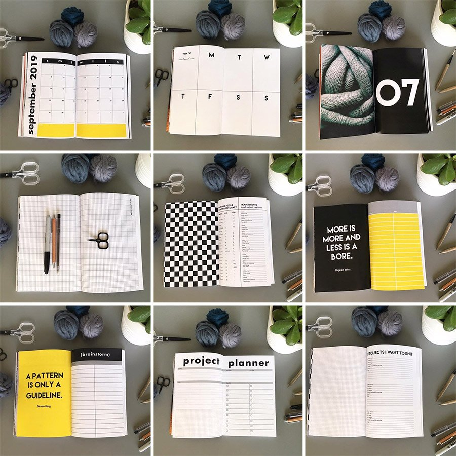 The Knitting Planner by Jen Geigley