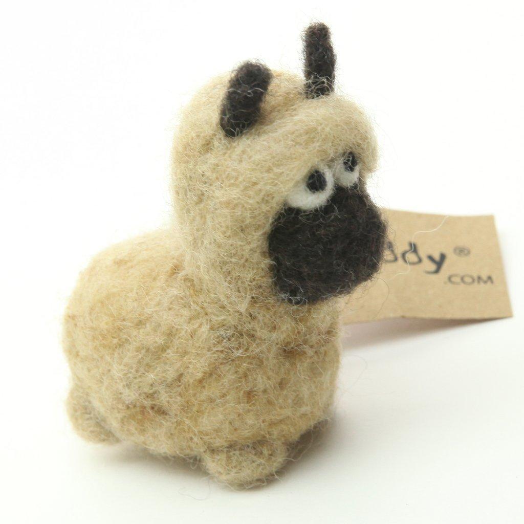 Woolbuddy Felting Kit Small - Llama