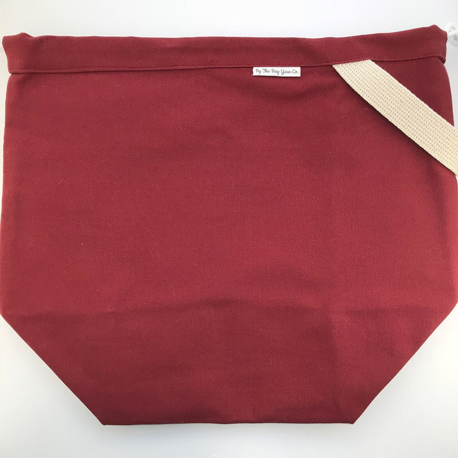 By the Bay Large Maddy Bag - Maroon