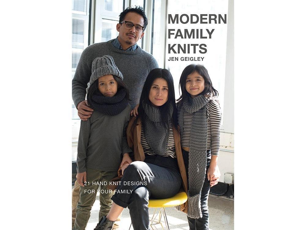 Modern Family Knits by Jen Geigley