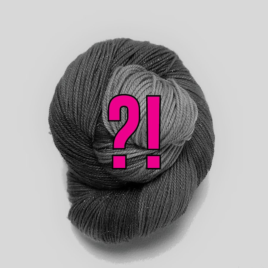 Fingering Weight Mystery Solo Skein