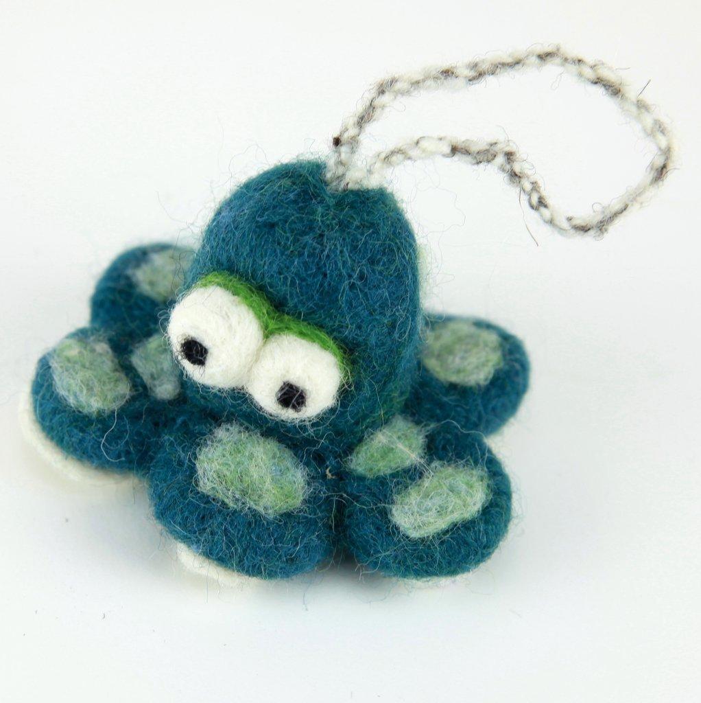 Woolbuddy Felting Kit Small - Octopus