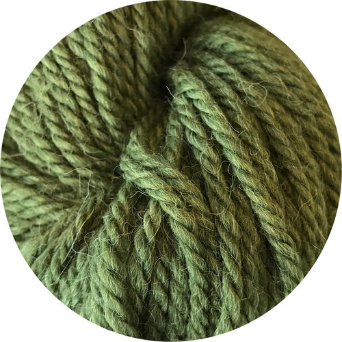 Big Bad Wool Weepaca - Olive Ewe