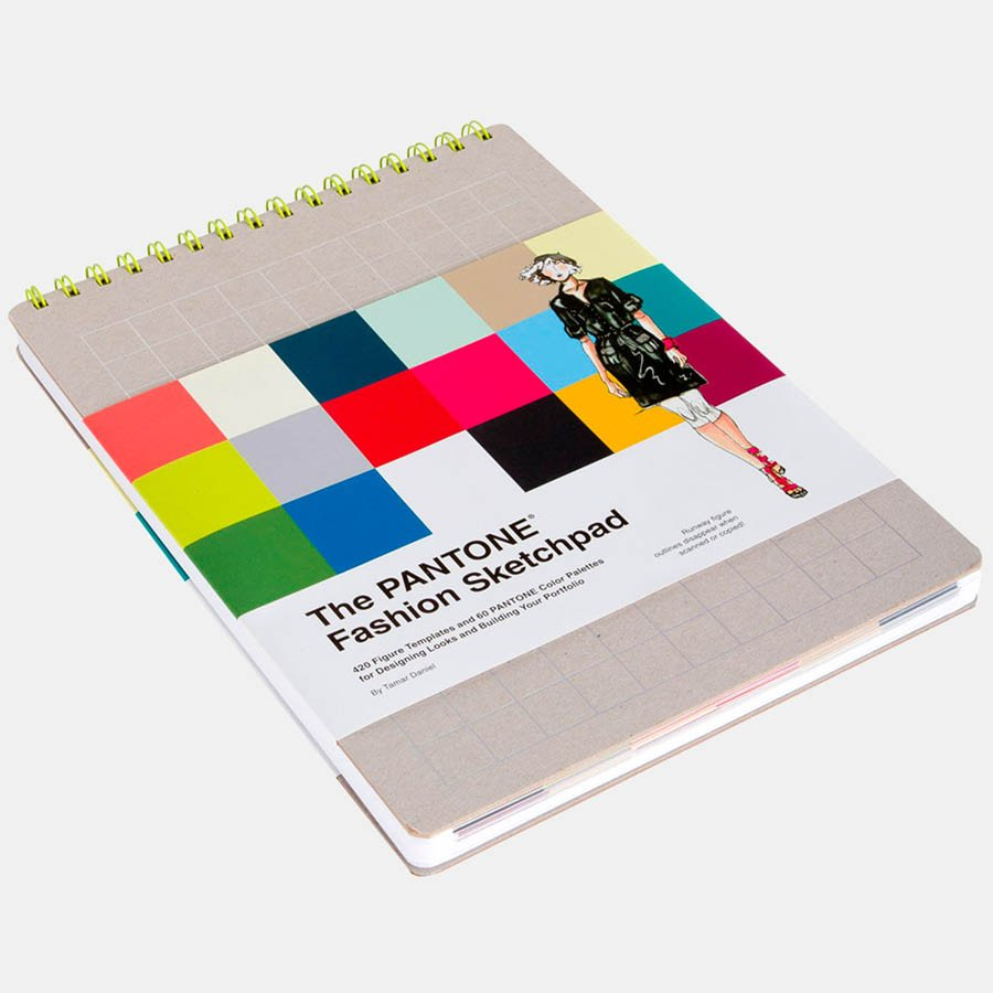 Pantone Fashion Sketchpad by Tamar Daniel