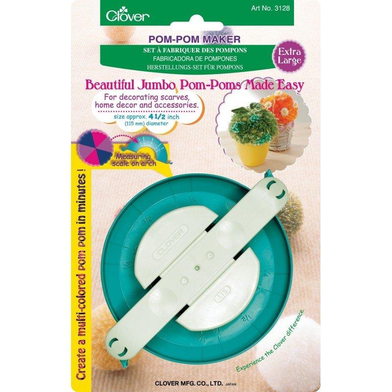 Clover Pom Pom Maker - XL