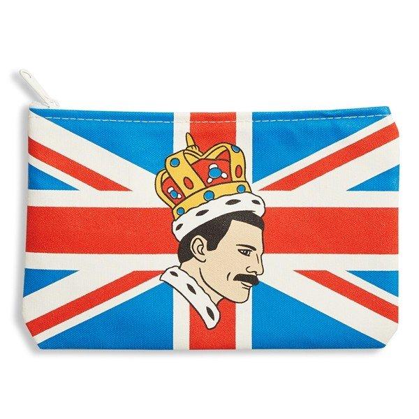 The Found Zippered Pouch - Freddie Mercury