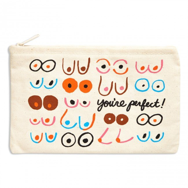 The Found Zippered Pouch - You're Perfect