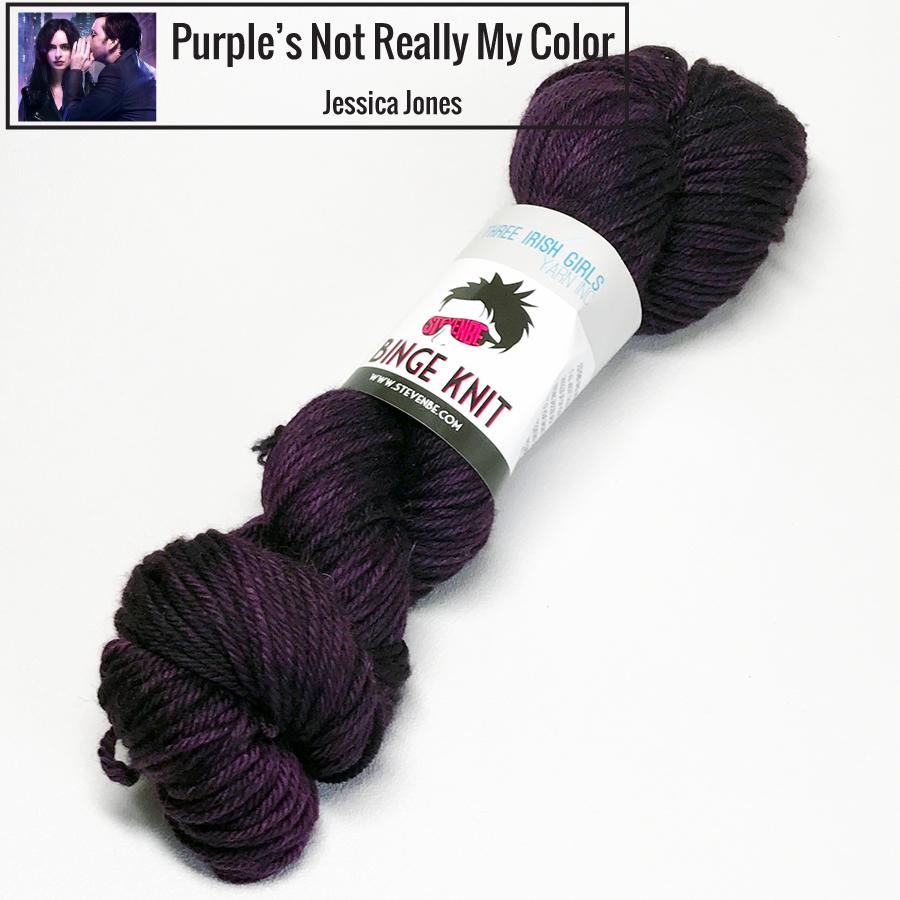 Three Irish Girls Binge Knit DK - Purple's Not Really My Color