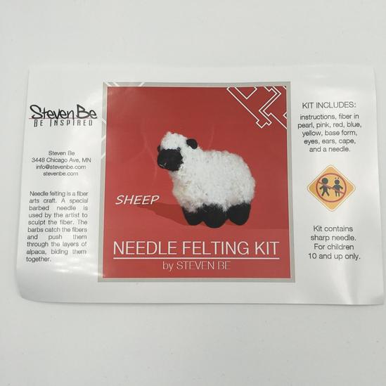StevenBe Needle Felting Kit - Sheep