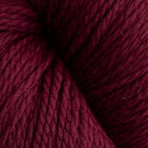 Cascade Eco + Ecological Wool - Merlot 7098