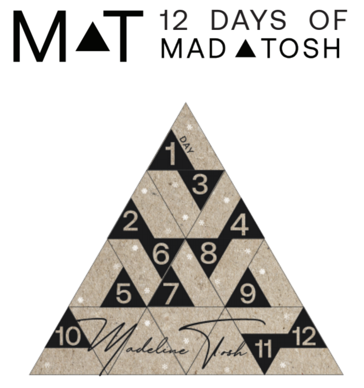 PREORDER - 12 Days of Madeline Tosh Holiday