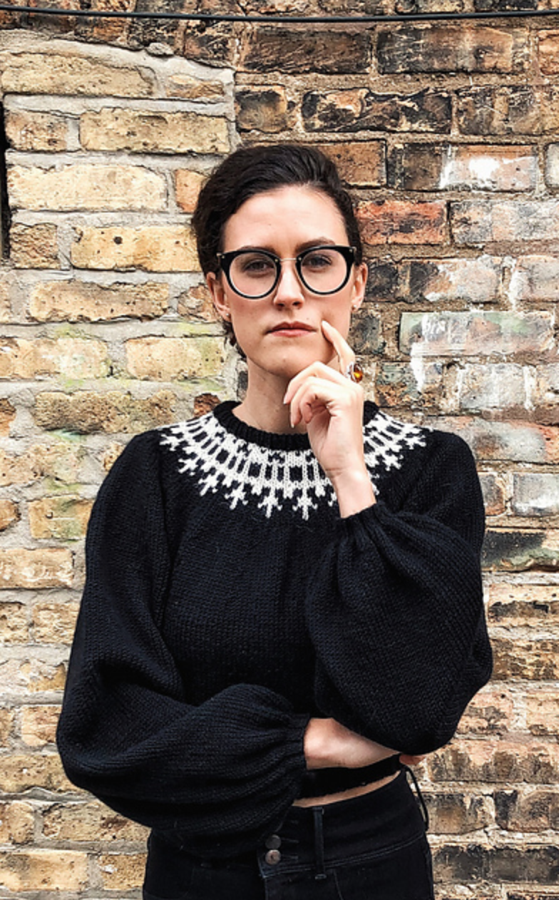 Knitorious RBG Pattern by Park Williams