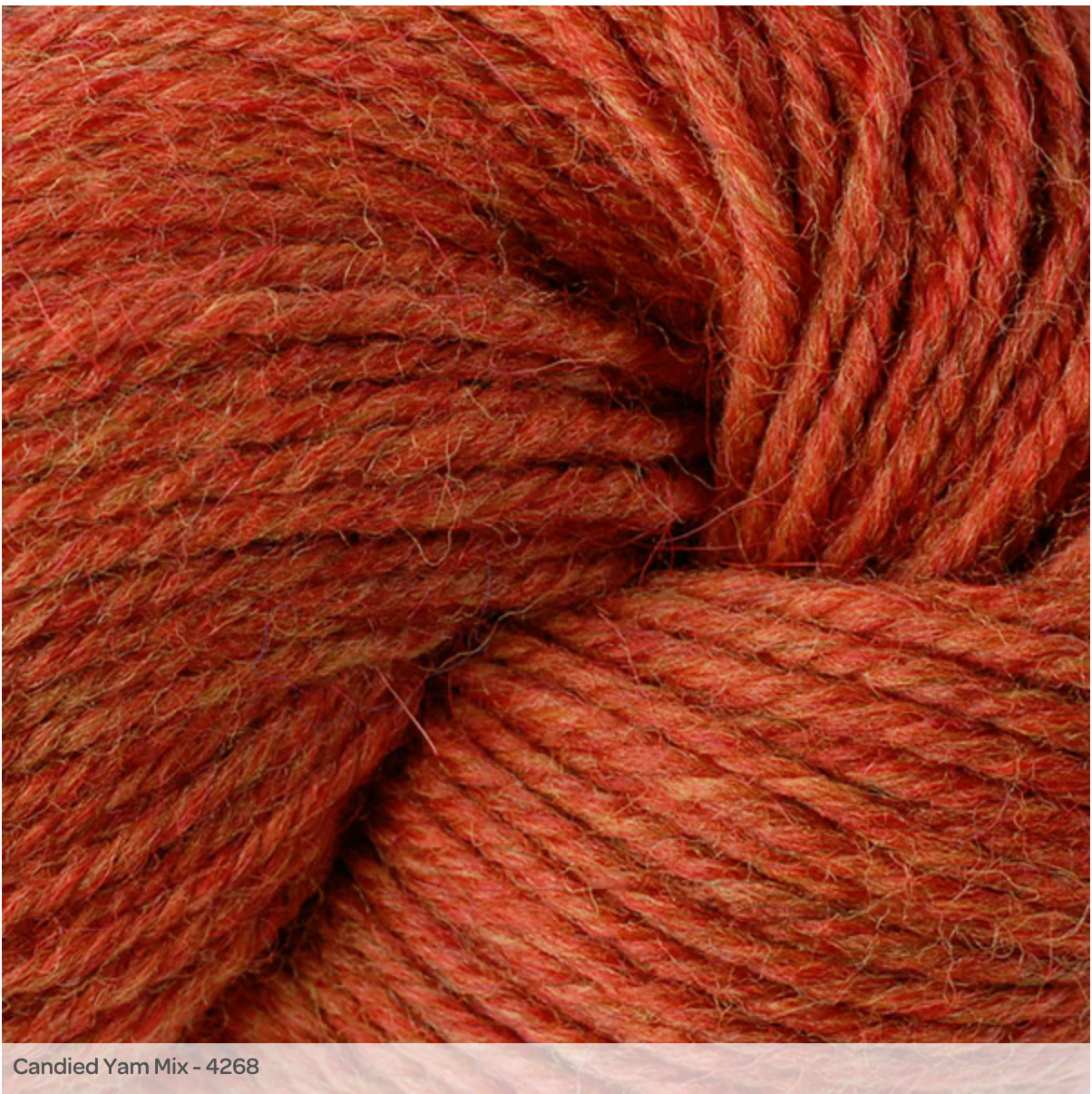 PREORDER Berroco Ultra Alpaca Light - Candied Yam Mix 4268