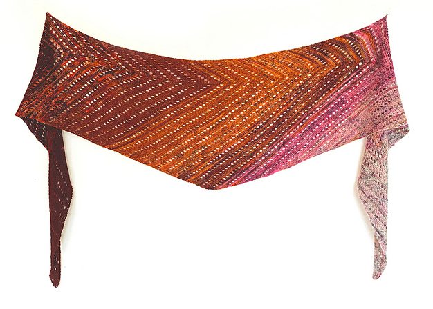 Venation Shawl by Ambah O' Brien