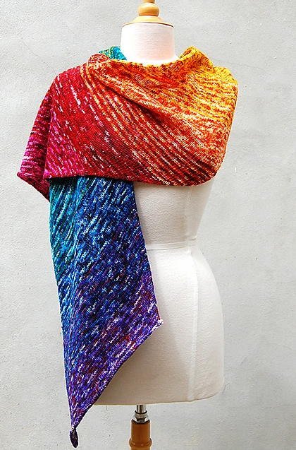 Annalise Wrap by Loop Knits