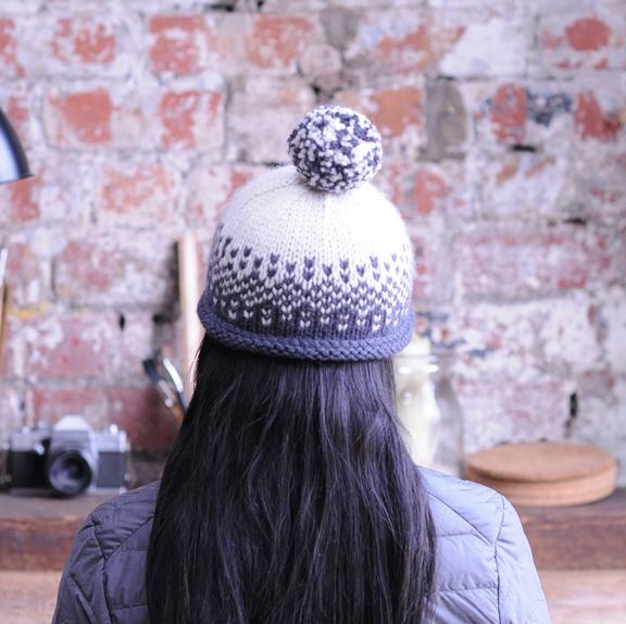 Flurry Hat by Fibre Co.