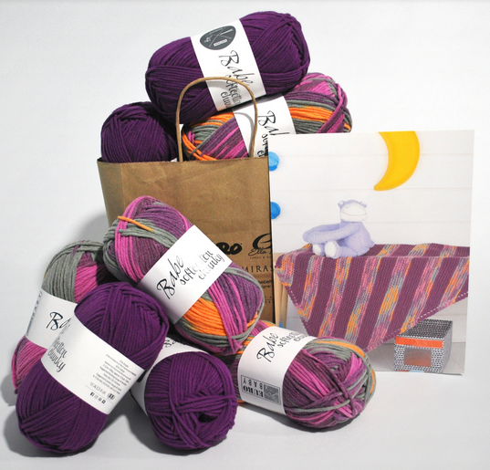PREORDER Knitting Fever Kits - Jelly Bean Blanket