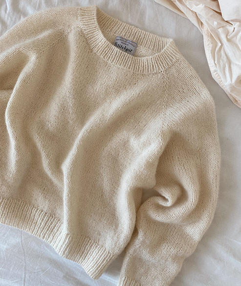 No Frills Sweater by Petite Knit