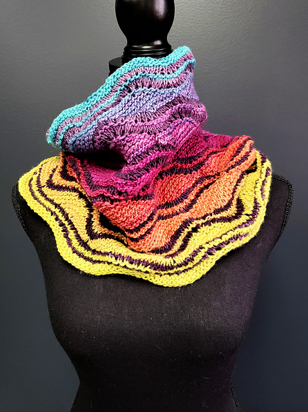 Song and Dance Cowl by Barbann Pappas