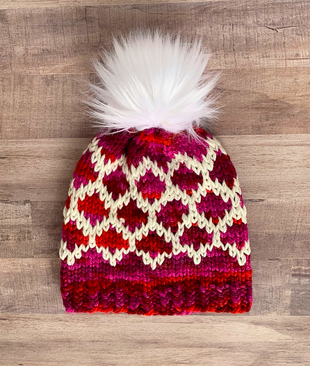 Pathways Beanie by Every Little Stitch by Meghan Callaway