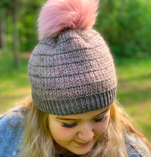 Slipped Rib Hat by Jodi Brown