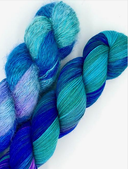 Beach Bum Yarn Co Play with Texture Set - Shake a Tail Feather!