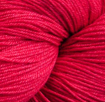 Cascade Heritage Silk - Christmas Red 5619