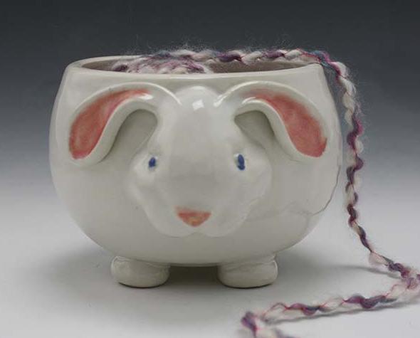 Pawley Yarn Bowl - Bunny