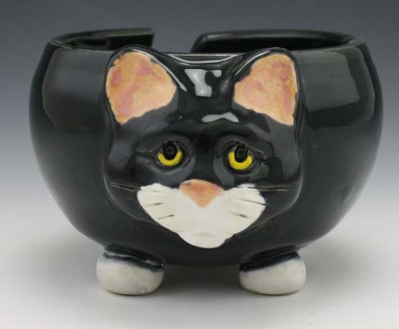 Pawley Yarn Bowl - Cat