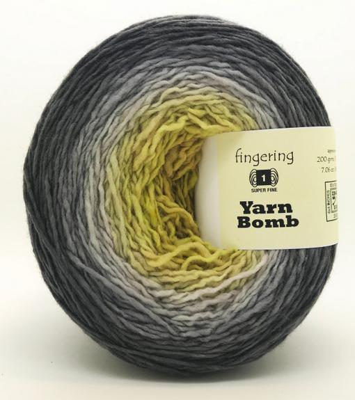 Freia Yarn Bomb - Lichen