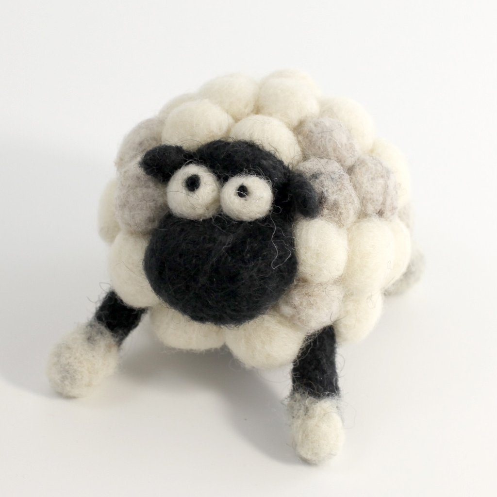 Woolbuddy Felting Kit Small - Sheep
