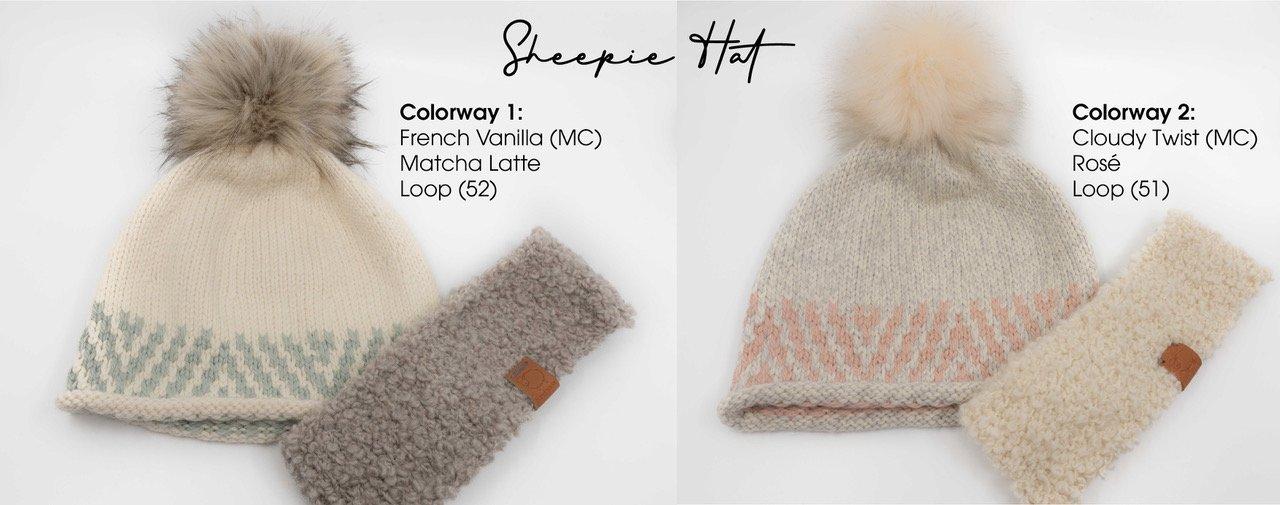 Ikigai Sheepie Hat Kit Without Pom Pom - Matcha