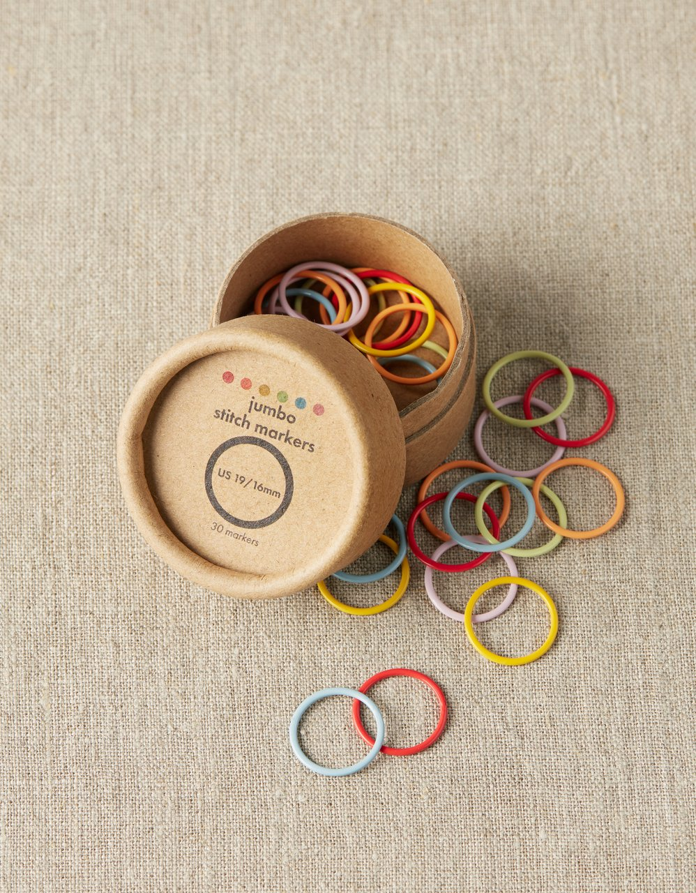 Coco Knits Jumbo Colored Ring Markers