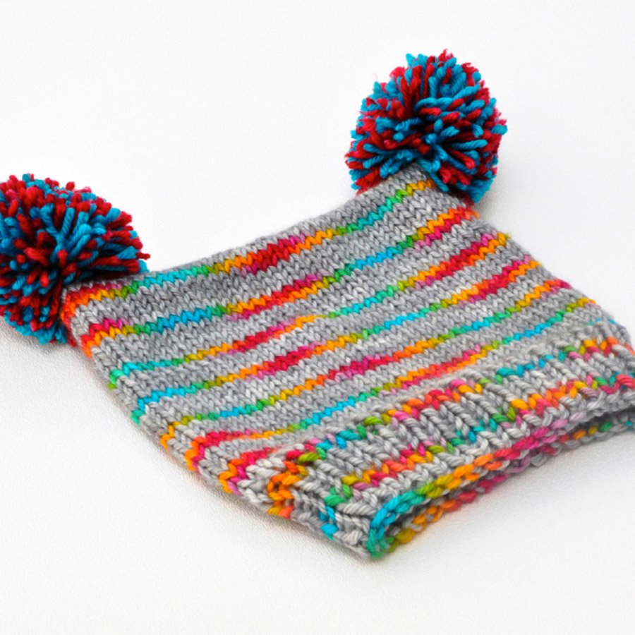 Beginner Series Toddler Hat Pattern - PDF