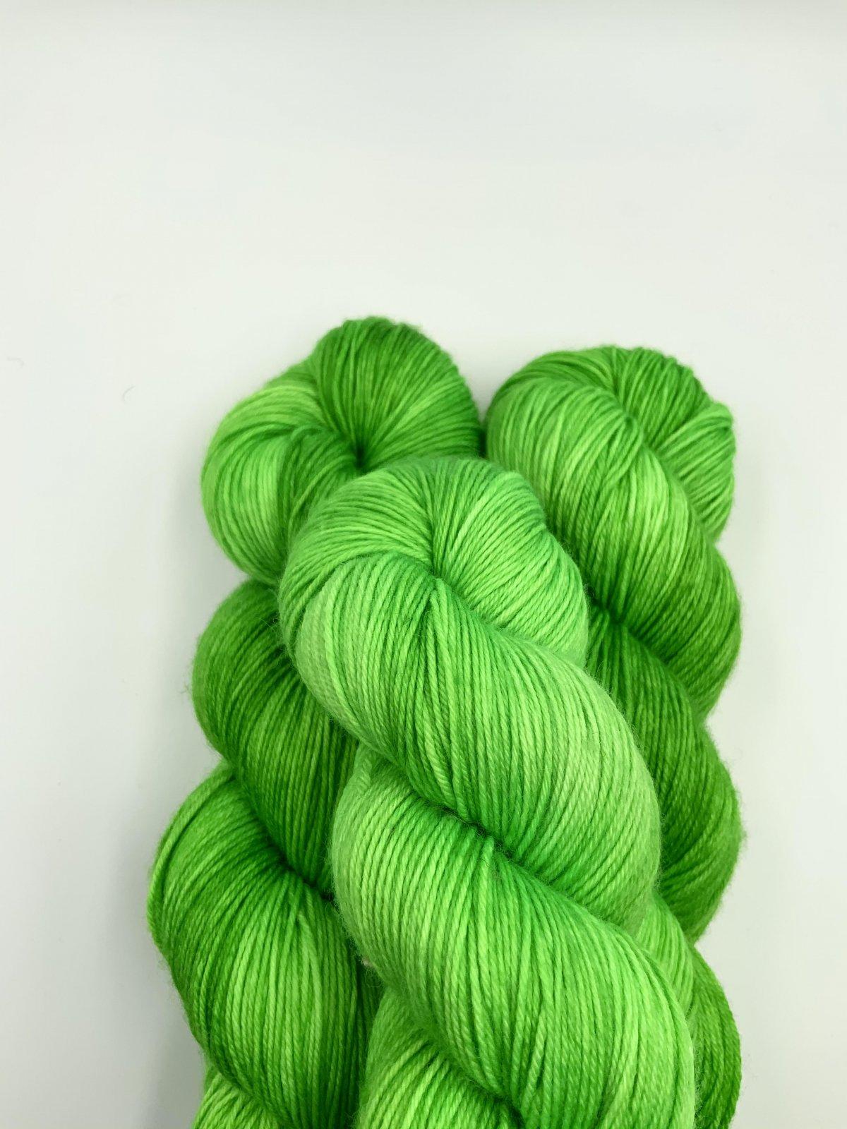 Kleur en Draad Merino 4ply Fingering - Grasshopper