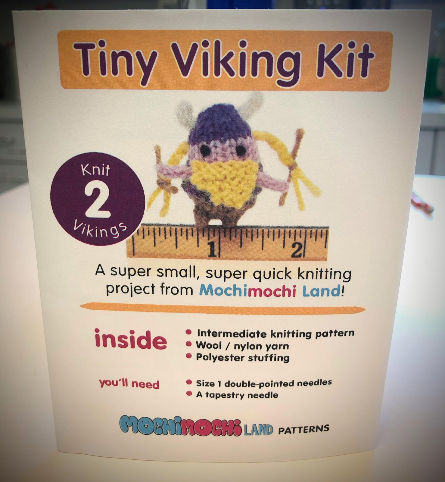 Mochimochi Land Tiny Viking Kit