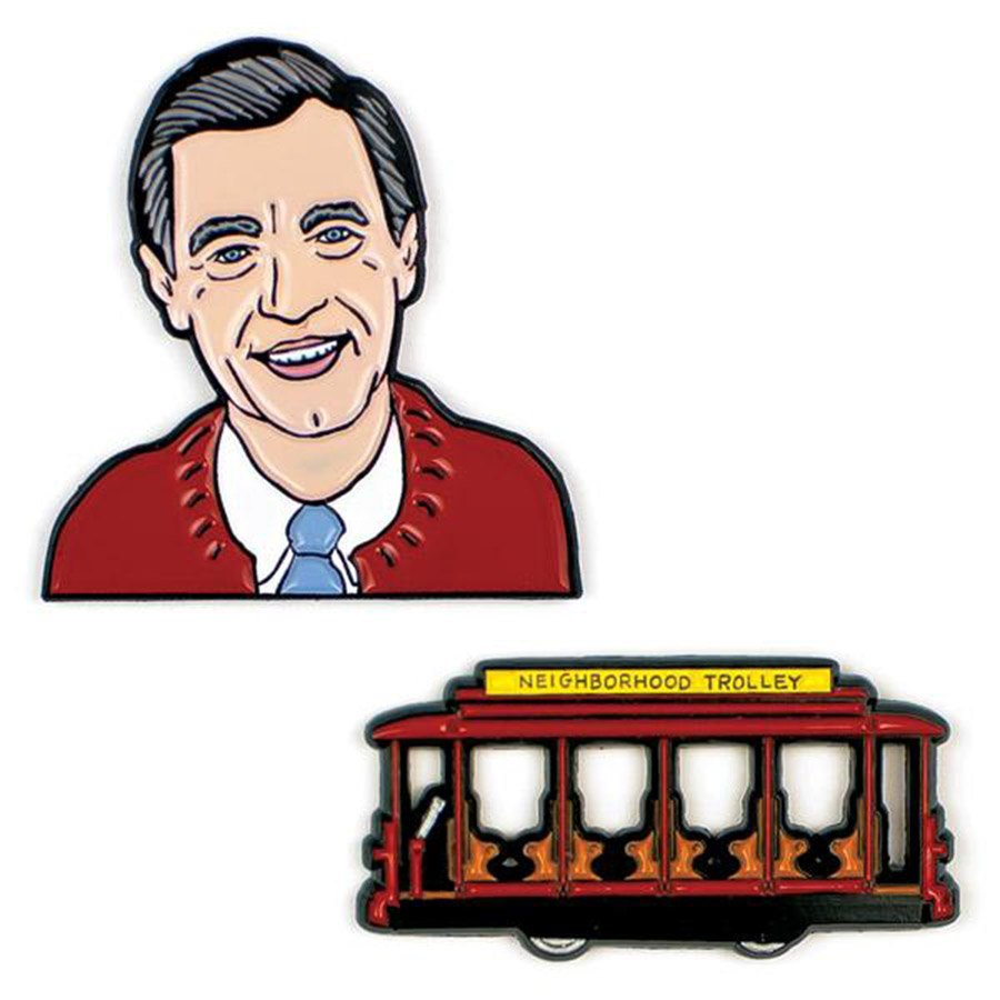 Unemployed Philosophers Pins - Mr. Rogers