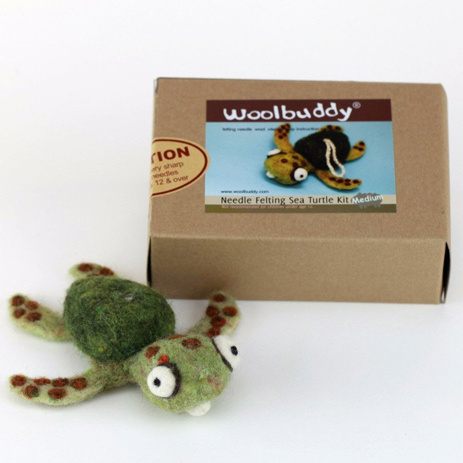 Woolbuddy Felting Kit Small - Sea Turtle