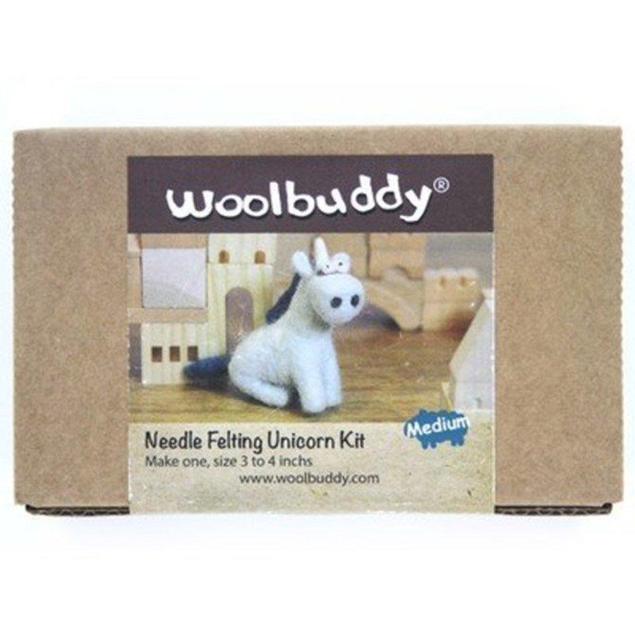 Woolbuddy Felting Kit Small - Unicorn