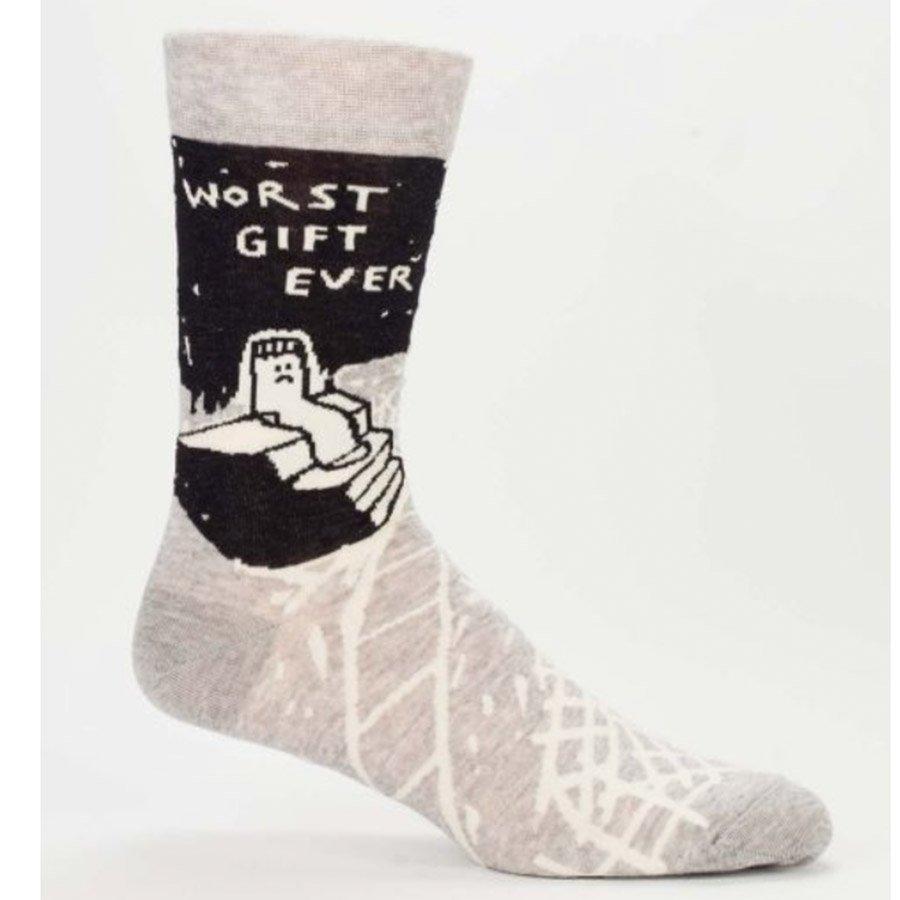 Blue Q Men's Socks - Worst Gift Ever