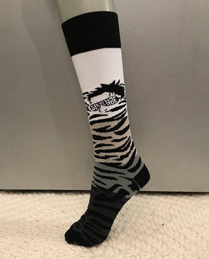 Funatic Socks - StevenBe Zebra